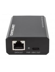 HUB DOCK TYPE C MULTIPORT BK RJ45+1*USB 3.1+2*USB 2.0 ADJ