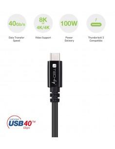 BLUETOOTH DONGLE MINI USB 4.0 BK AUDIO-60M- DATA-100M- ADJ